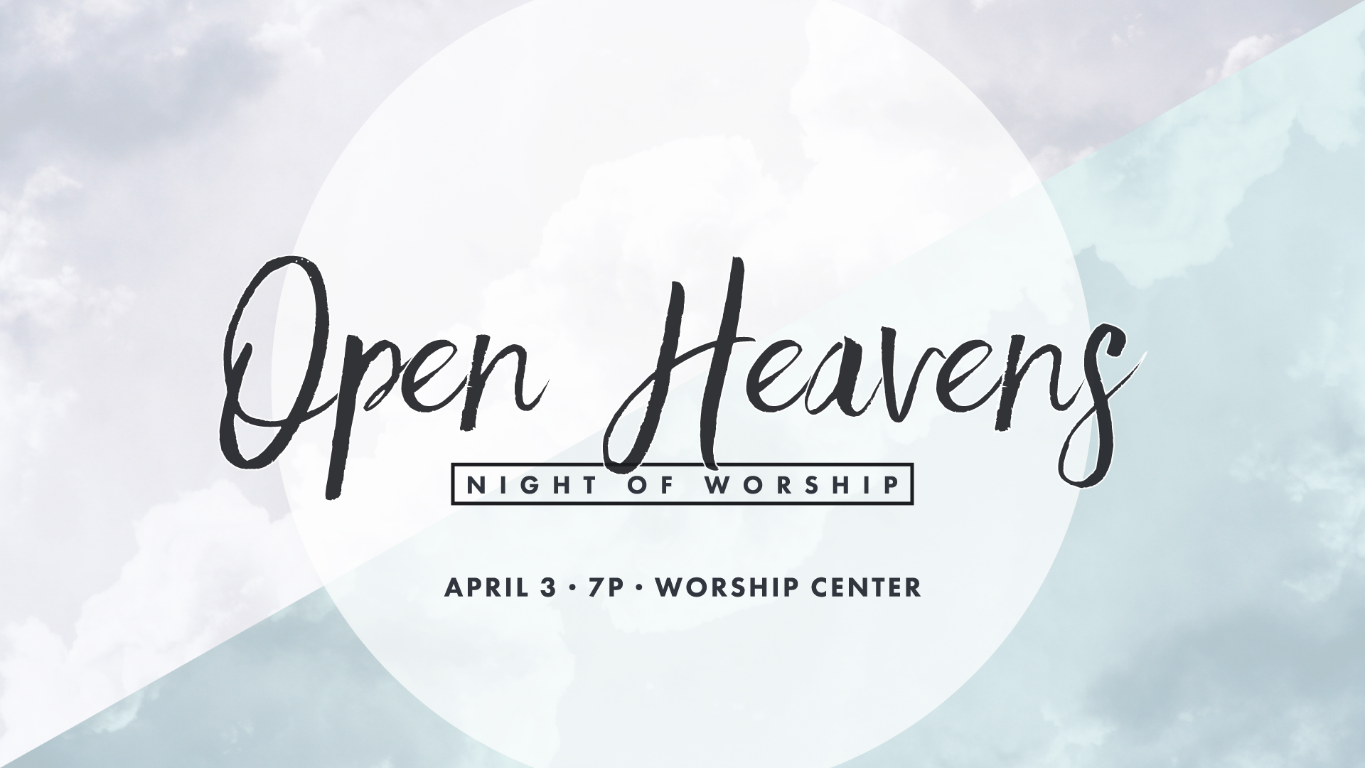 Upcoming Events Open Heavens