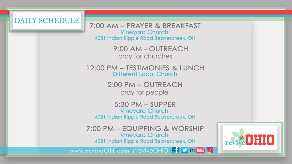 revive-daily-schedule