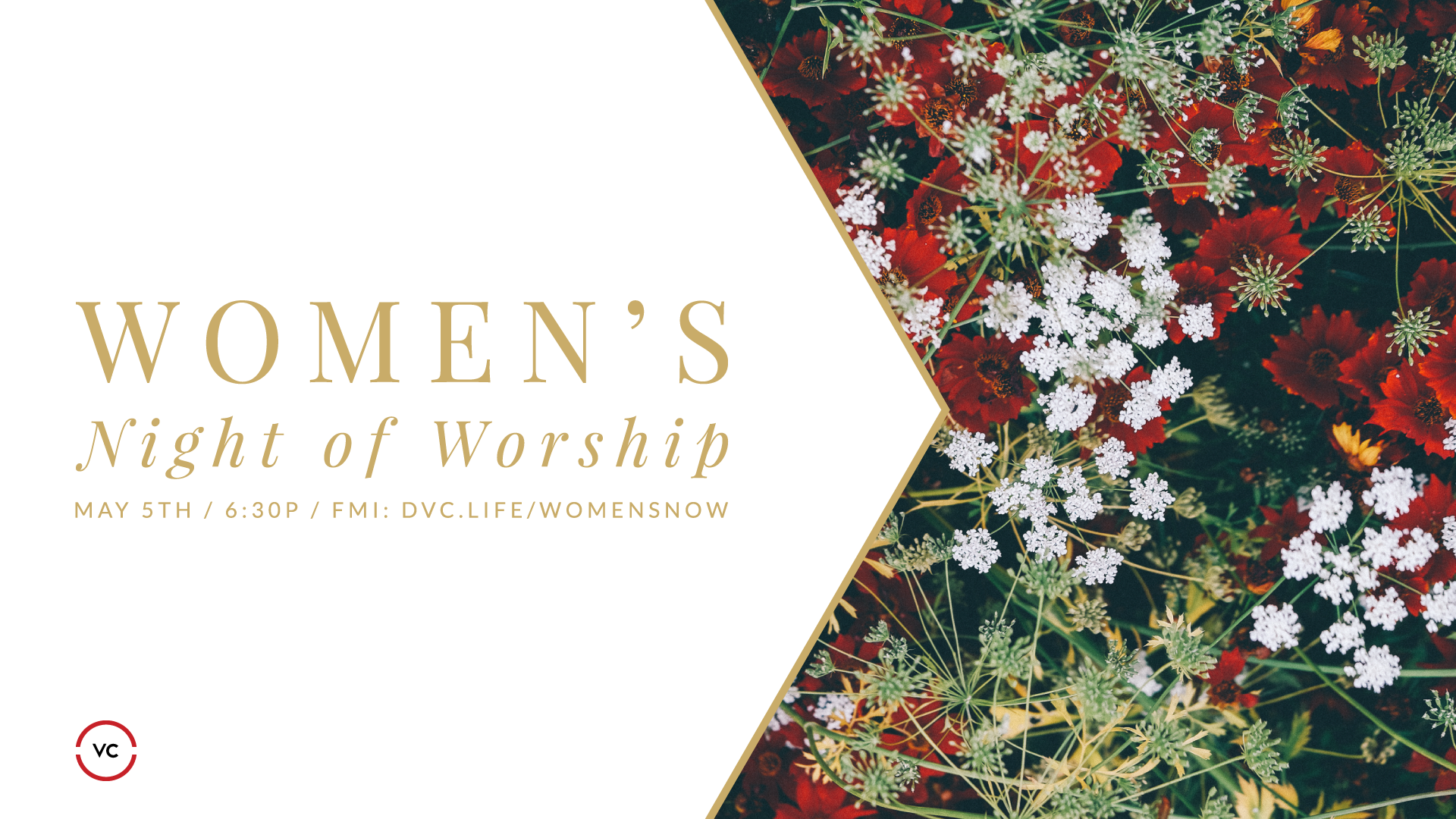 Upcoming Events Womens Night of Worship