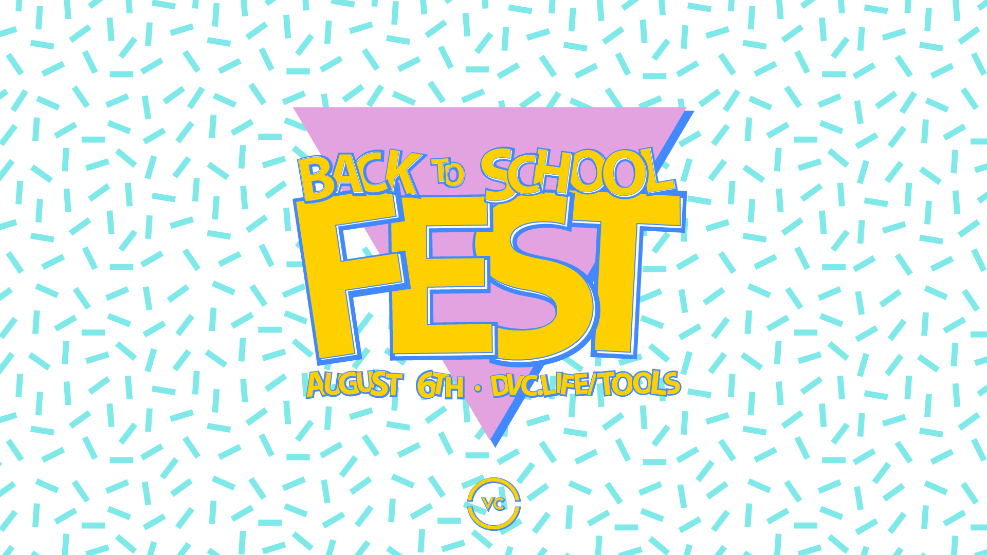 Upcoming Events Back to School Fest