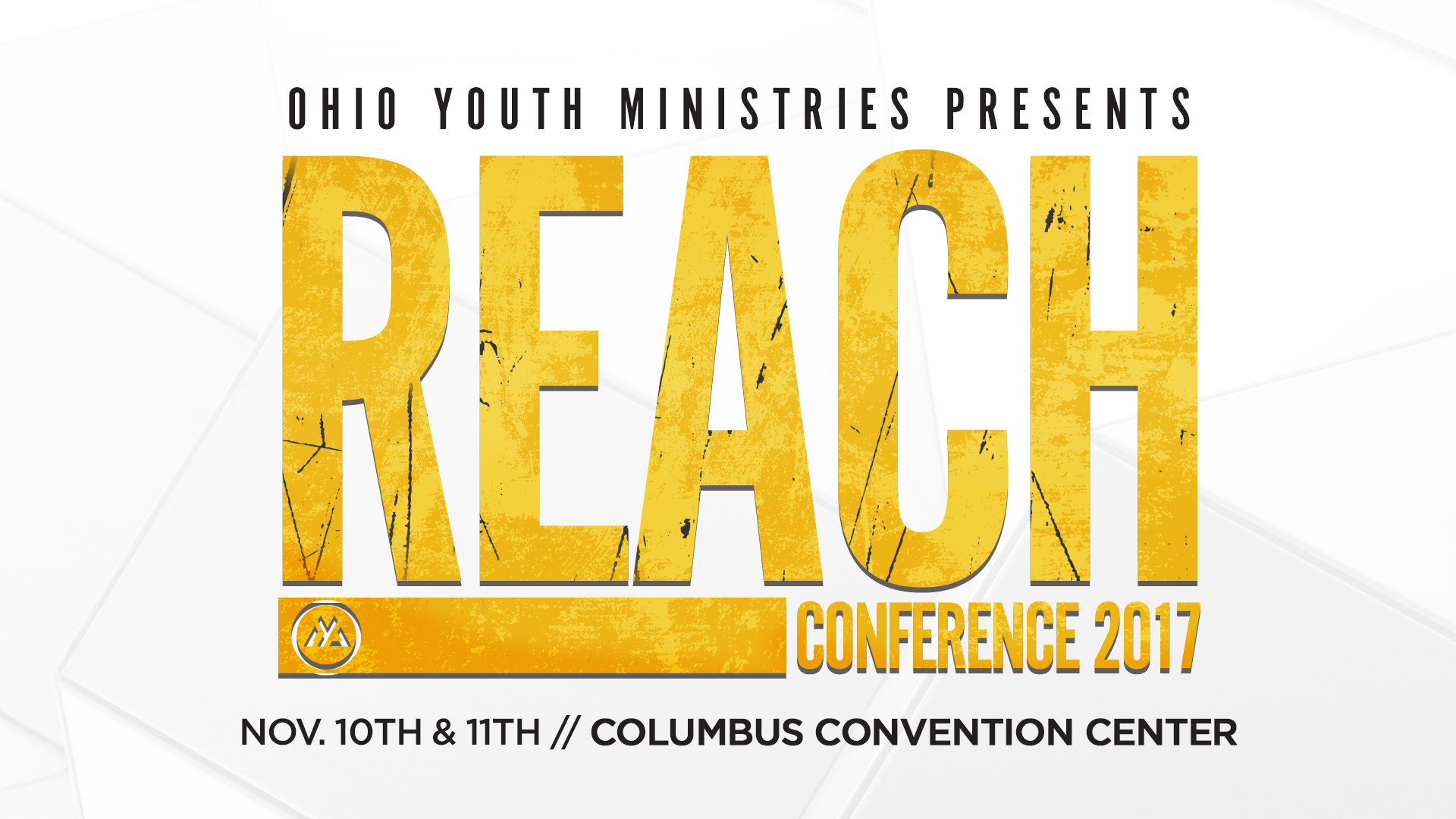 Upcoming Events Vineyard Student Ministry REACH Conference