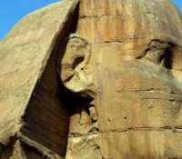 Closeup-Of-The-Face-Of-The-Great-Sphinx-of-Giza