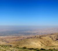 The view from Mt. Nebo overlooking the Promised Land.